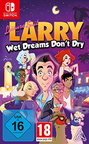 Leisure Suit Larry - Wet Dreams Don't Dry (Nintendo Switch)