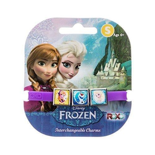 Disney Frozen: 3 Charms Roxo Band (Petit, pourpres, Olaf, Anna et Elsa) [jouets]
