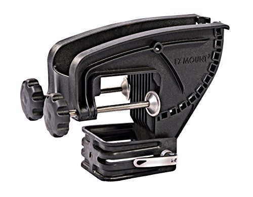 Pro Controll EZ Mount II Replacement Bracket Allows You to Mount a Hand Controlled trolling Motor on The Bow of Your Jon Boat. Fits Boats with a 3' or Less top Rail or Gunnel. More Detail at Store.