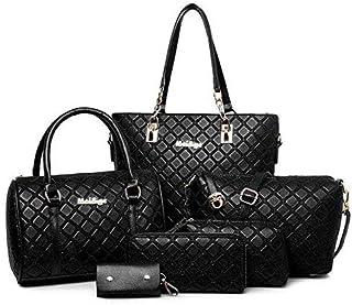 مجموعة حقائب يد للكتف عصرية وانيقة للنساء من 6 قطع