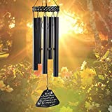 Balaena Memorial Wind Chimes for Outside Deep Tone, 32 Inch Metal Sympathy Wind Chimes for Loss of Loved One,Bereavement Gifts for Loss of Mother/Father/Husband