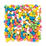 Baker Ross Fideos mágicos adhesivos en húmedo (Paquete de 600) Maíz colorida para jugar y hacer construcciones con niños