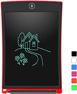 LCD Writing Tablet, Electronic Writing Drawing Doodle Board Erasable, Aukor 8.5-Inch Handwriting Paper Drawing Tablet for ...
