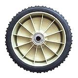 Jasis Woo Cortacésped rueda/rueda trasera se adapta a Honda 216 cortacésped Oleo Mac cortacésped piezas de repuesto ruedas de la herramienta de neumáticos