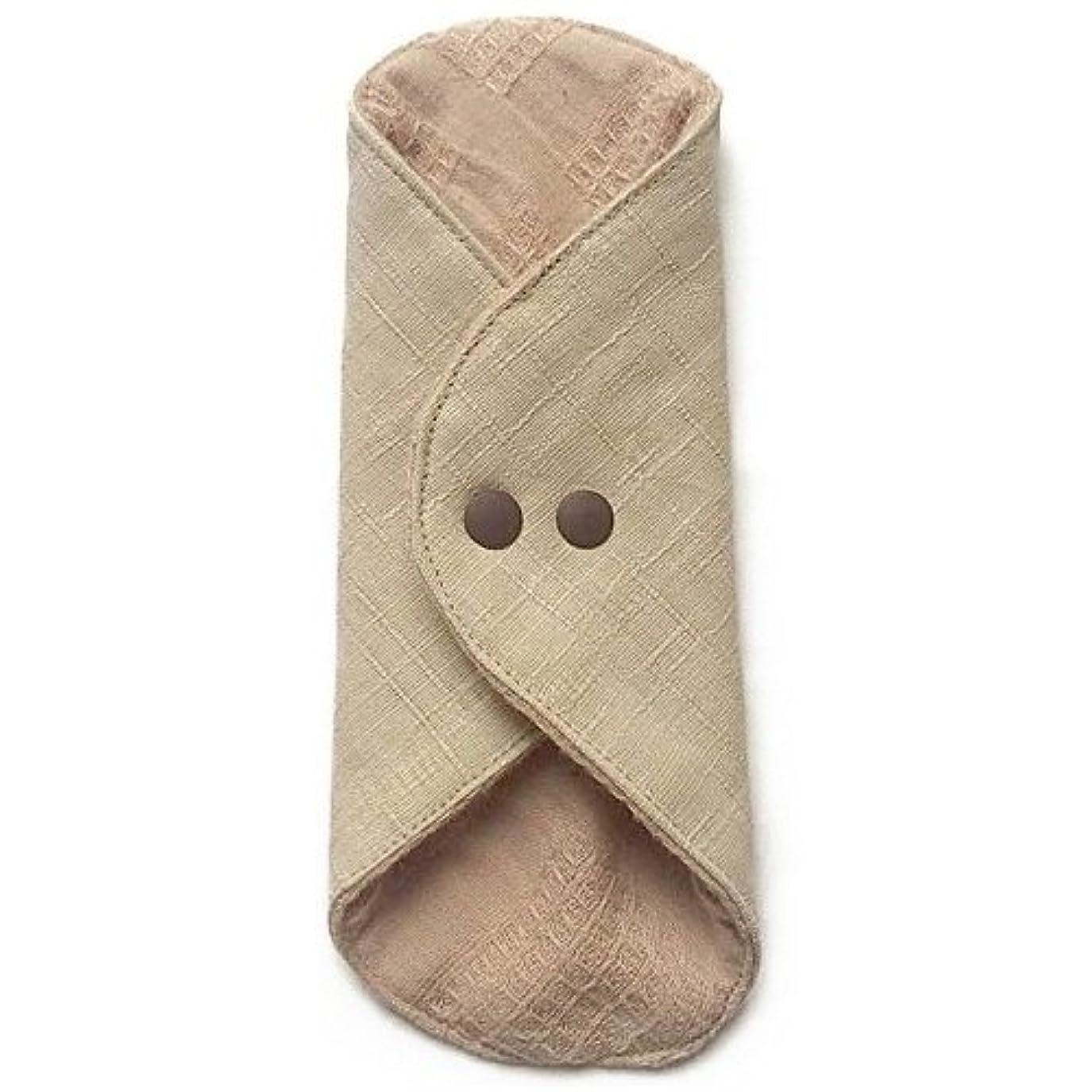 アセンブリ崖野生華布のオーガニックコットンのあたため布 Mサイズ(約15×約15cm) 彩り(百合)