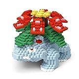 VSUK Building Block, Building Block Pokémon Mobile Modèle Building Block Set 1878+ PCS Pokémon Fleur De Grenouille Mini Blocs Nano Jouets De Bricolage, Puzzle 3D Jouet Éducatif De Bricolage