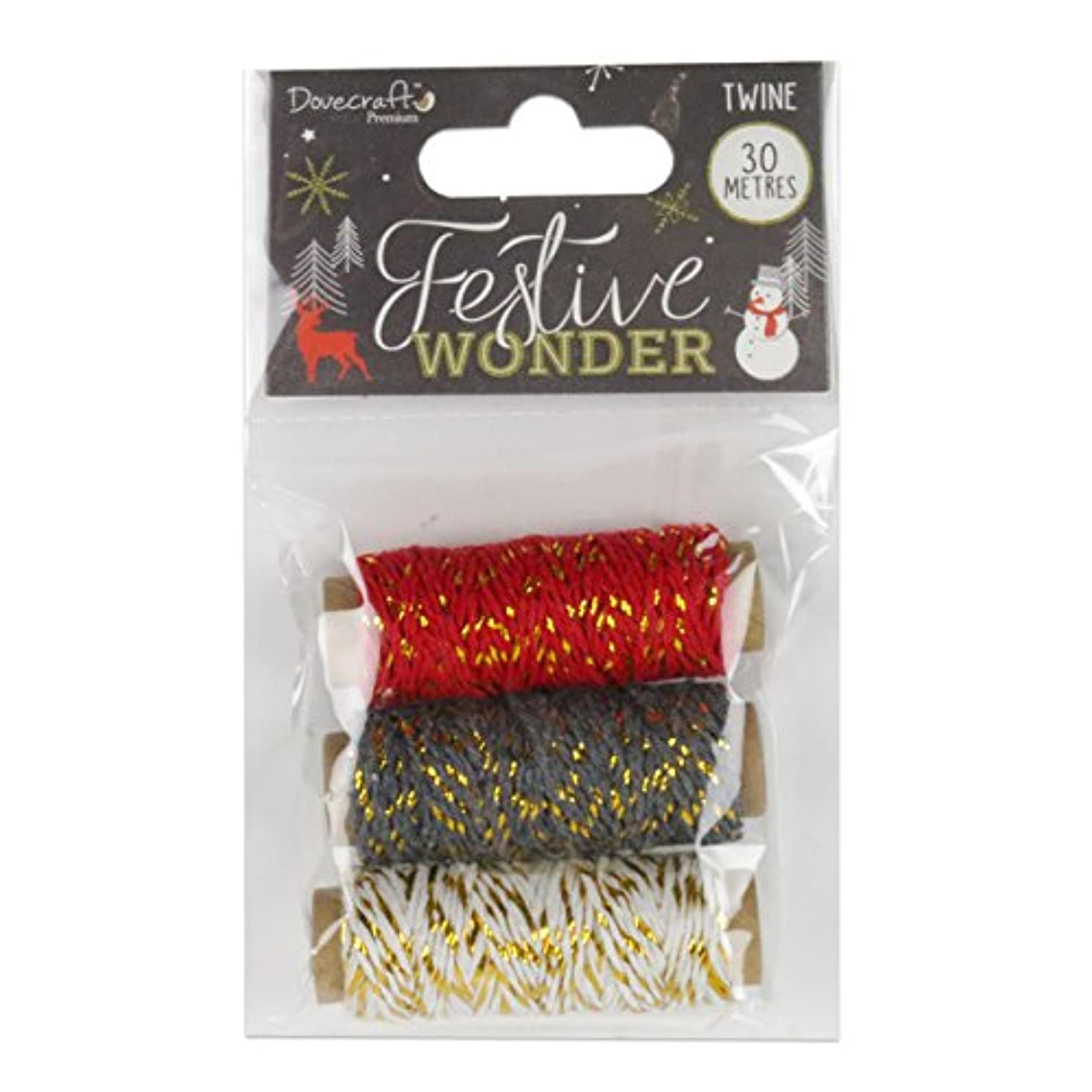 Dovecraft Christmas 2018 Premium Collection - Festive Wonder Twine