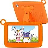 TURNMEON Tableta Tablet para Niños de 7 Pulgadas con augmented Reality (AR 4d Spielzeug, Toque pantalla Dual Cámara WIFI, Android Quad Core, 8 GB, 1 GB RAM (Animales, Educación & de Tarjetas/Silicona - Caso + Stylus)