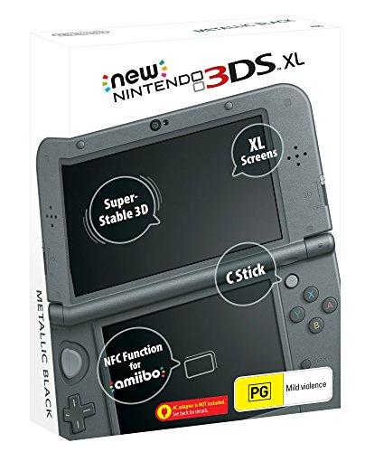 Nintendo New 3DS XL Console Metallic Black