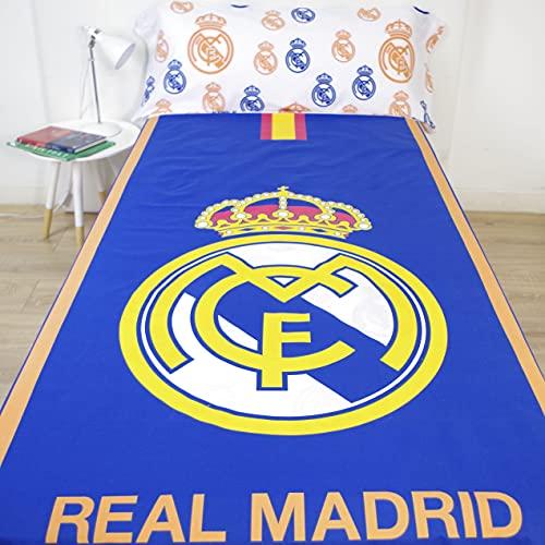 10XDIEZ Juego de sabanas Real Madrid 186003   (Cama 90...