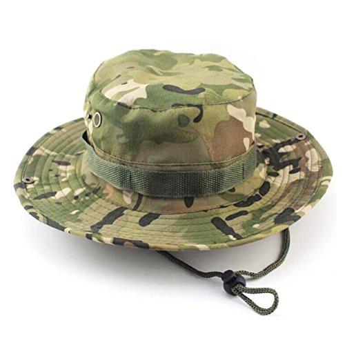 WINOMO sol sombreros camuflaje Boonie–Sombrero de Safari al aire