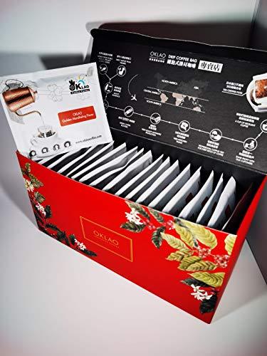 OKLAO Golden Mandheling Flavor Kaffee Drip Coffee Bag 20 Stk. in Geschenkverpackung (20)