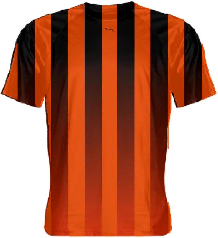 LightningWear orange and Navy bluee Soccer UniformsNavy bluee Soccer Shirts