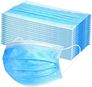 Disposable Masks Dust-proof And Breathable Filter Respirator Hygienic Breathing Anti-pollution Mask Salon, Dental Dust Mask With Elastic Earrings (40 BOX-2000 PCS)