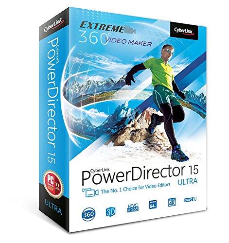 Cyberlink PowerDirector 15 Ultra Wins 10 / Wins 7 / Wins 8 / Wins 8.1 CD-ROM