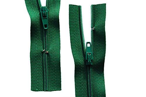 Reißverschluss Dunkelgrün 180 cm für Bettwäsche Kopfkissen Bettbezüge schließbare Länge