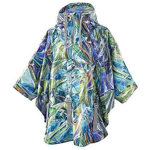 adidas by Stella McCartney Run Print Cape JKT poncho regenjas dames