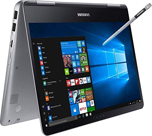 Premium 2019 Samsung Notebook 9 Pro Business 15.6' FHD 2-in-1 Touchscreen Laptop/Tablet Intel Quad-Core i7-8550U, 16GB DDR4, 128GB SSD, 2G Radeon 540 Backlit KB USB-C 4K Display Out S Pen Win 10