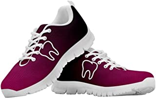 Chaqlin - Scarpe da corsa unisex, per adulti, casual, per attività all'aria aperta, palestra, scarpe da ginnastica in rete...