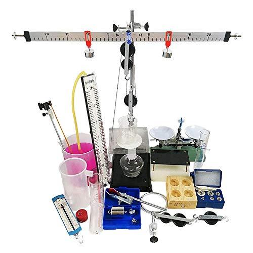 YZHX-Chemical Mechanik Physik Experimentiersatz Flaschenzughebelwaage Qualitätsdichtebilanz Flüssigkeitsdruck Physik-Lehrinstrument