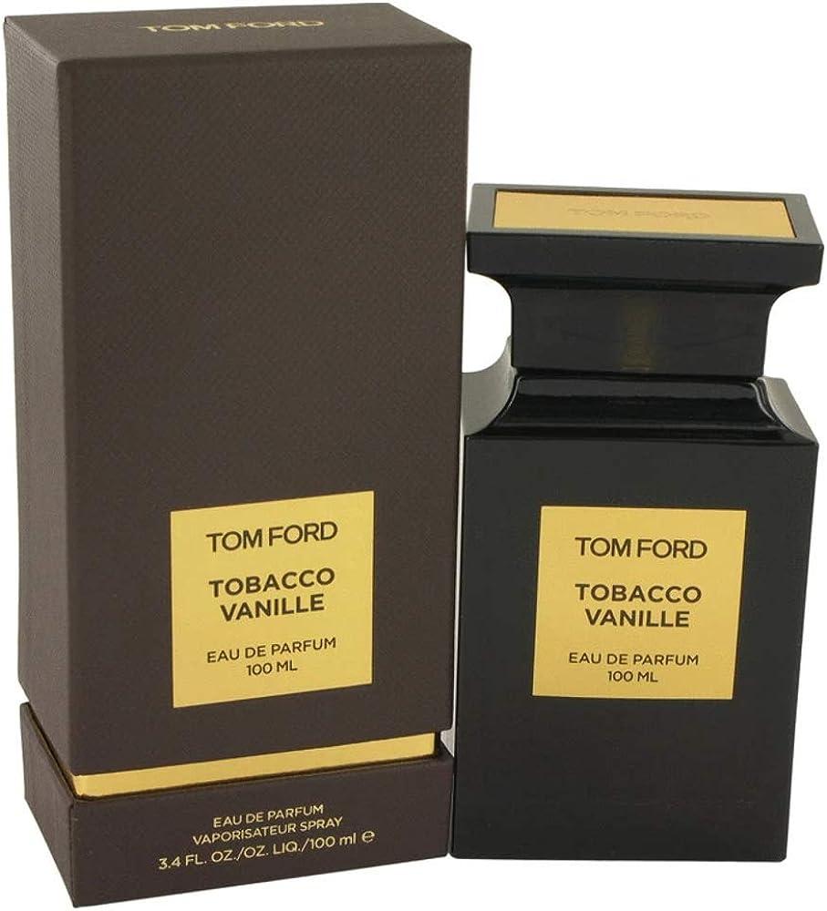 Tom ford tobacco vanille, eau de parfum, profumo per uomo , 100 ml 0888066004503