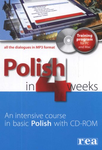 Polish in 4 Weeks: Intensive Course in Basic Polish by M Kowalska (2008-01-04)