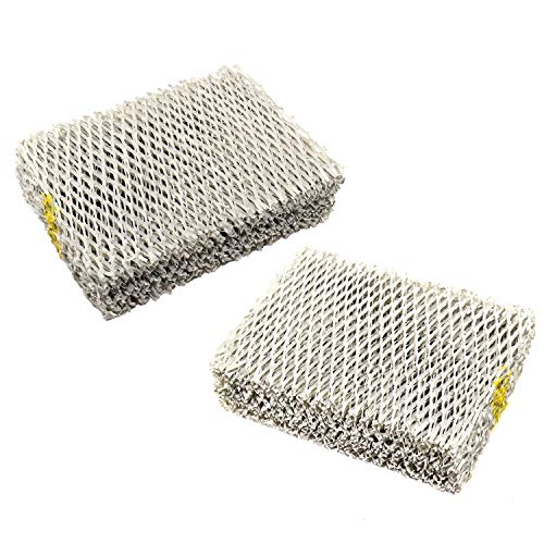 HQRP 2-pack Humidifier Wick Filter compatible with Hunter 31941 94124 Replacement Hunter 33201, 33202, 33204, 33222, 33223 Humidifiers