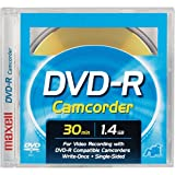 Maxell DVD-R CAM/Sony 3¿ DVD-R Removable Disc in Jewel Box for Sony DVD Camcorders