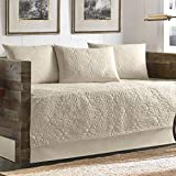 Tommy Bahama 5 Piece Quilted Daybed Cover Set, Ivory