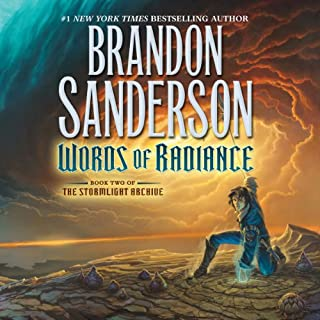 Words of Radiance audiobook cover art