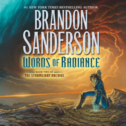 Words of Radiance     The Stormlight Archive, Book 2              By:                                                                                                                                 Brandon Sanderson                               Narrated by:                                                                                                                                 Michael Kramer,                                                                                        Kate Reading                      Length: 48 hrs and 13 mins     48,375 ratings     Overall 4.9