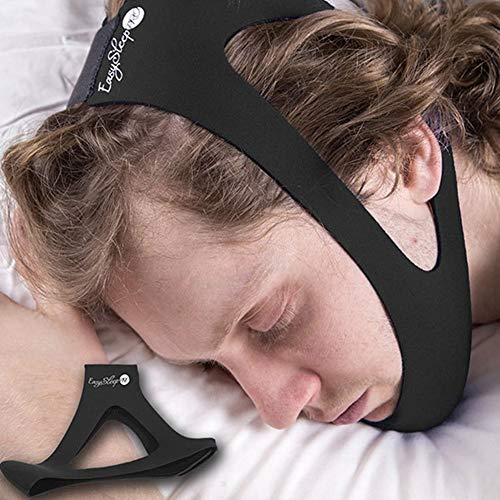 Ajustable Anti Ronquido Chin Correas Snore Shield Snore Relief Jaw Support Detener La Solución