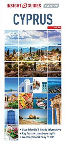 Insight Guides Flexi Map Cyprus (Insight Flexi Maps) [Idioma Inglés]