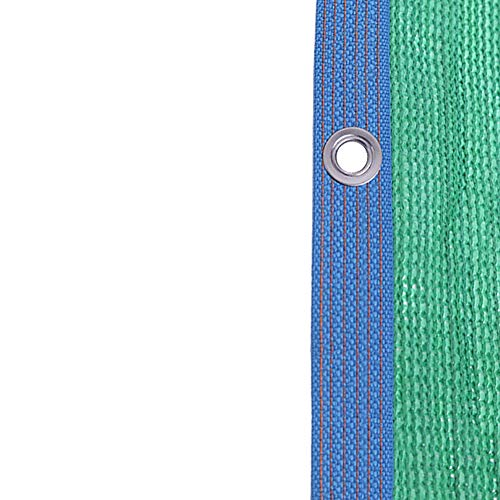 Lqqdp Schattiernetz Dach Sunblock Shade Cloth, Green Outdoor Windproof Shade Nettingm, für Sun Room Kennel Buildings Pergola/Gartenpflanzen (Size : 3x4m/9.8x13.1ft)