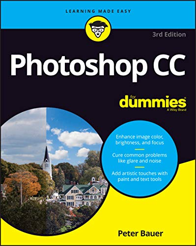 Adobe Photoshop CC For Dummies, 3rd Edition Front Cover