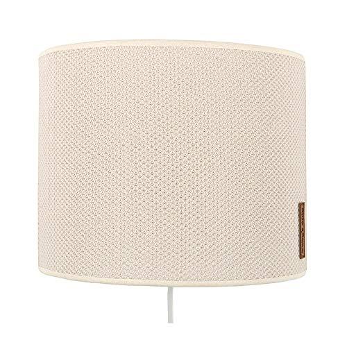 BO Baby's Only - Wandlampe für Babyzimmer aus Baumwolle - 25x10x20 cm - für Jungen und Mädchen - Sand
