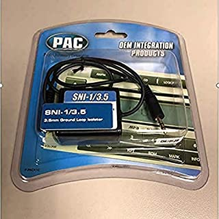 PAC Ground Loop Isolator for 3.5 Mm Applications (Black) (B001EAQTRI) | Amazon price tracker / tracking, Amazon price history charts, Amazon price watches, Amazon price drop alerts