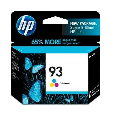 HP 93 Tri-color Original Ink Cartridge (C9361WN) for HP Photosmart 2575 C4150 C4180 HP PSC 1510