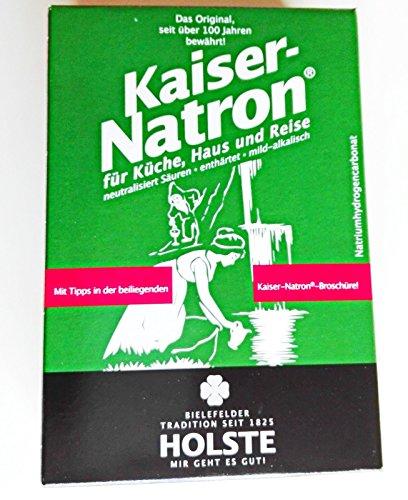 2x HOLSTE Kaiser Natron 250g Soda,Backen,kochen,waschen,reinigen Haus, Küche
