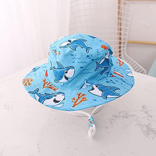 Unisex Gorra de ,Algodón delgado bebé sombrero de primavera y verano sombrero de verano patrón de animal sombrero para niños a prueba de viento Pescador a prueba de viento Hombres y mujeres Casquillo