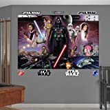 FATHEAD Star Wars: Classic Mural-Huge Officially Licensed Removable Graphic Wall Decal