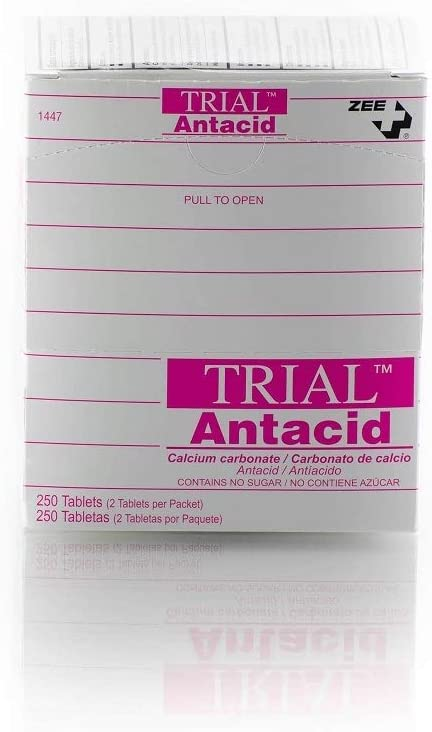 Trial Antacid Zee Medical Chewable 250 Tablets Box Direct sale Max 52% OFF of manufacturer - Refill