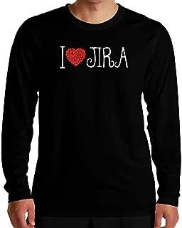 I Love JIRA Cool Style Long Sleeve T-Shirt