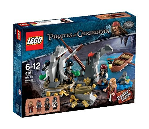 LEGO Pirati dei Caraibi 4181 - L'Isola della Morte
