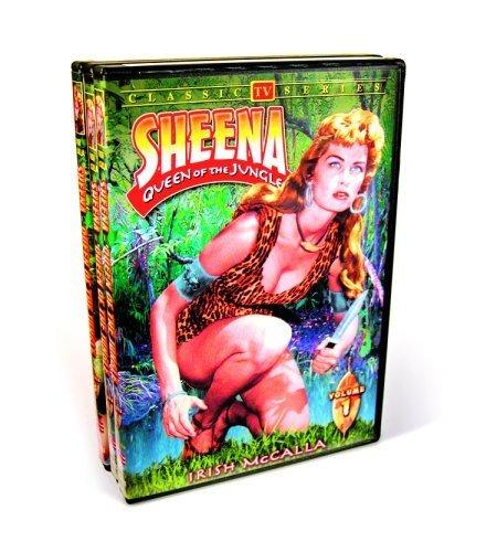 Sheena Queen Of The Jungle: Volumes One through Three by Irish McCalla