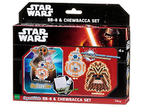 Aquabeads 30149 Star Wars BB 8 und Chewbacca Bastelset, 21,2 x 18,2 x 5 cm