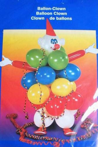 Riethmüller Ballon-Clown Dekoset -45001-