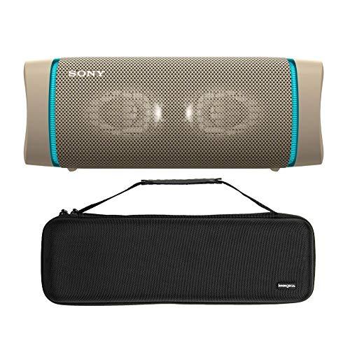 Sony SRSXB33 Extra Bass Bluetooth-Lautsprecher, kabellos, tragbar, mit Knox Gear...
