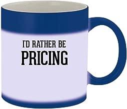 I'd Rather Be PRICING - 11oz Ceramic Blue Color Changing Mug, Blue