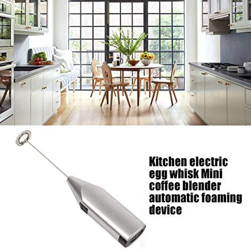 Panamami Batidora de Huevo eléctrica de Cocina Mini batidora de café Dispositivo automático de Espuma de Leche y Leche Barra de agitación/Aleatorio